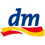 dm-Drogerie Markt Logo in blog area